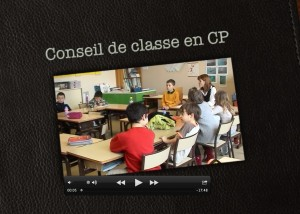 Conseil de classe en CP